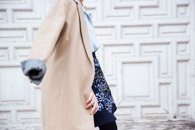 AnhHa-Embroidered_Skirt-Camel_Coat-Blue_Shirt-Outfit-Street_Style-66