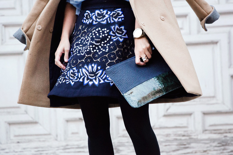 AnhHa-Embroidered_Skirt-Camel_Coat-Blue_Shirt-Outfit-Street_Style-68