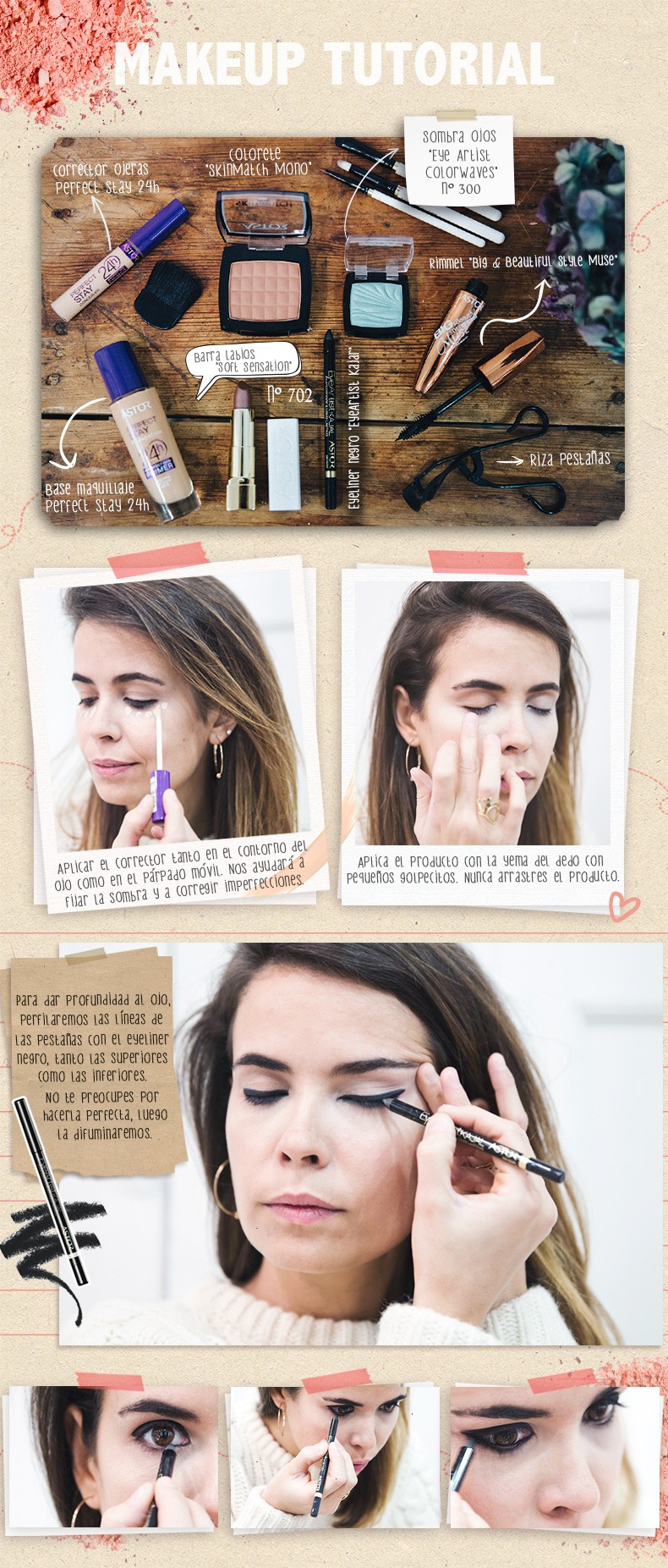 Astor-Make_Up_Tutorial-Smokey_Eyes-Ojos_Ahumados-Collage_Vintage-101