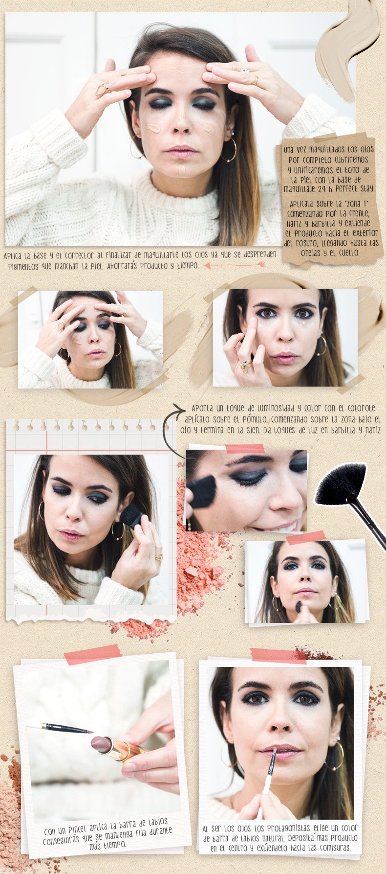 Astor-Make_Up_Tutorial-Smokey_Eyes-Ojos_Ahumados-Collage_Vintage-105