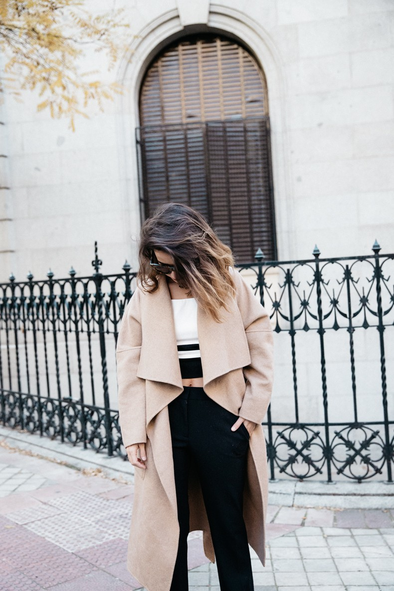 Bardot_Top-Stripes-Purificacion_Garcia_Trousers-Camel_Coat-Outfit-Street_Style-Collage_Vintage-35