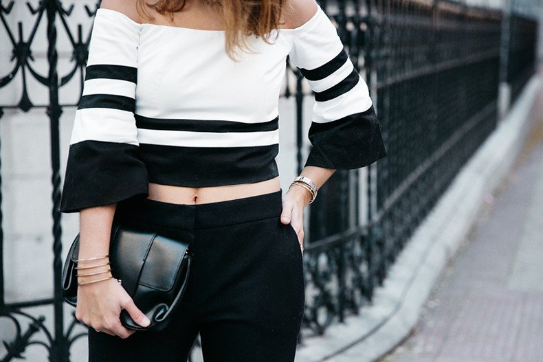 Bardot_Top-Stripes-Purificacion_Garcia_Trousers-Camel_Coat-Outfit-Street_Style-Collage_Vintage-79