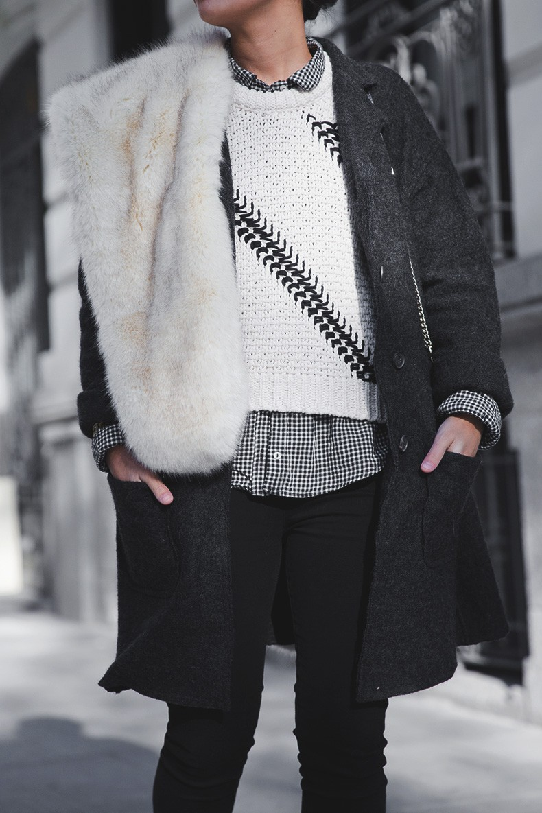 Faux_Fur_Scarf-Miandco_Coat-Plaid_Shirt-Layers-Chained_Boots-Outfits-Street_Style-French_Braid-8