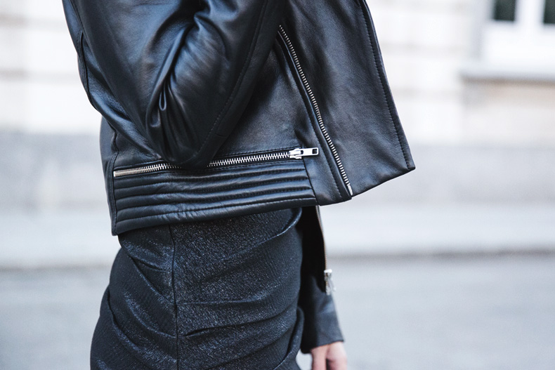 Maje_Evening_Capsule-Outfit-Drapped_Dress-Biker_Jacket-Collage_Vintage-Night_Look-52