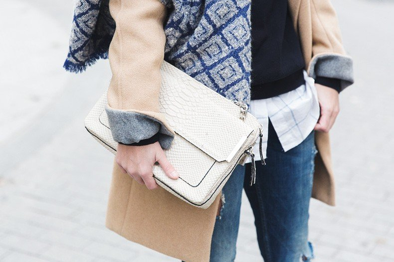 Camel_Coat-Blue_Sweater_Plaid_Shirt-Maxi_Scarf-Outfit-Blue_Boots-Outfit-Street_Style-Collage_Vintage-48