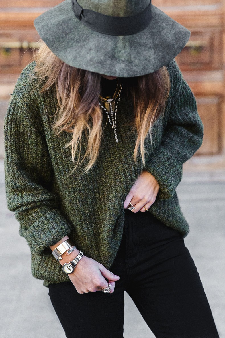 Khaki_Jumper-Black_Jeans-Leopard_Boots-Lionette_NY_By_Noa_Sade_Necklace-Revolve_Clothing-Outfit-Maje_Leather_Skirt-Street_Style-15