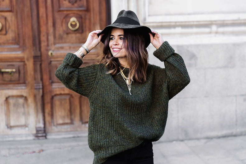Khaki_Jumper-Black_Jeans-Leopard_Boots-Lionette_NY_By_Noa_Sade_Necklace-Revolve_Clothing-Outfit-Maje_Leather_Skirt-Street_Style-43