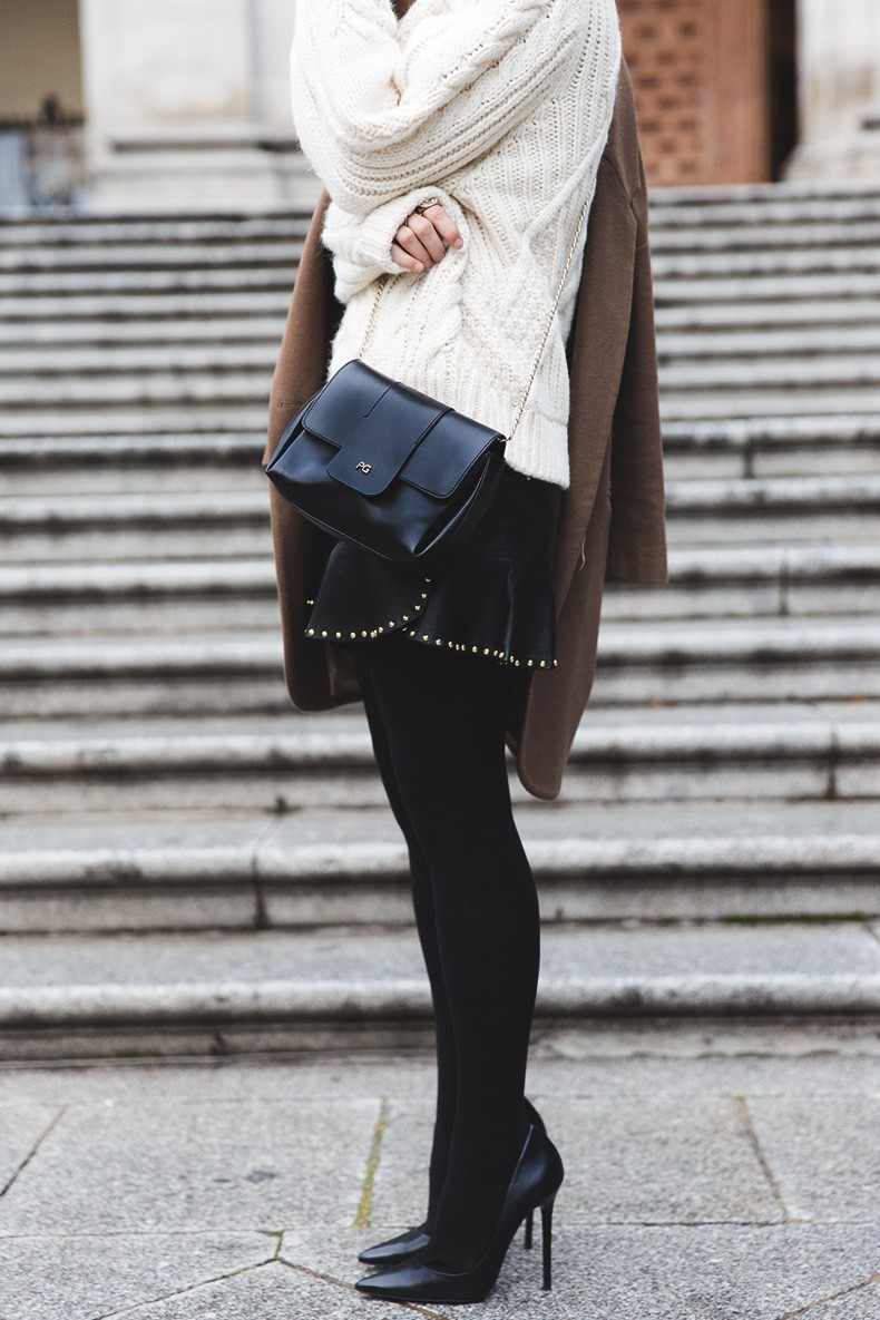 Leather_Skirt-Maje_Sweater-Camel_Coat-Lionette_NY_Necklace-Outfit-Street_Style-Collage_Vintage-Topknot-14