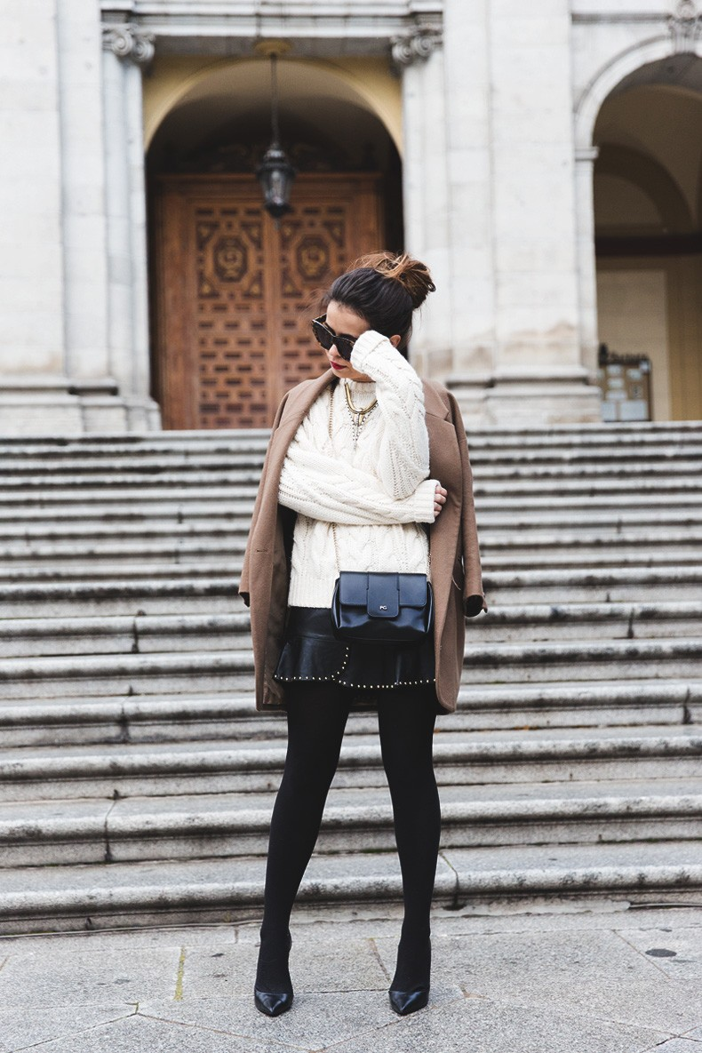 Leather_Skirt-Maje_Sweater-Camel_Coat-Lionette_NY_Necklace-Outfit-Street_Style-Collage_Vintage-Topknot-5