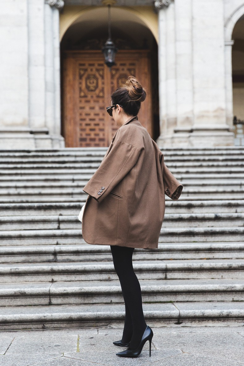Leather_Skirt-Maje_Sweater-Camel_Coat-Lionette_NY_Necklace-Outfit-Street_Style-Collage_Vintage-Topknot-7