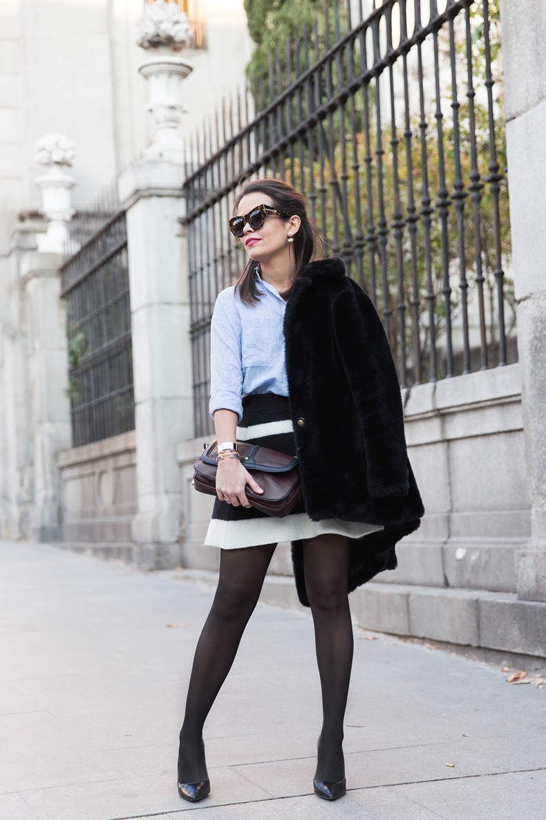 Striped_Skirt-Blue_Shirt-Faux_Fur_Coat-Outfit-Street_Style-Collage_Vintage-16