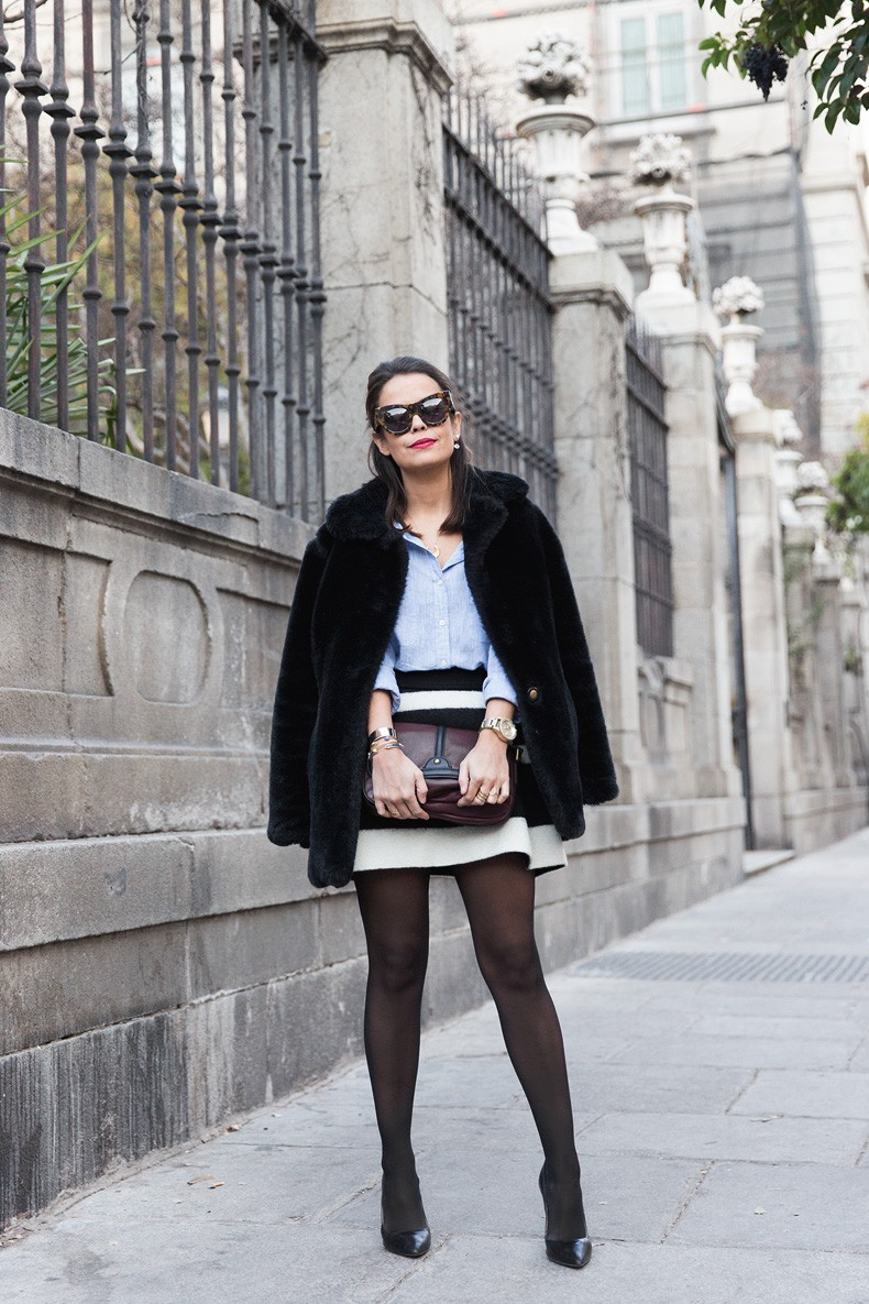 Striped_Skirt-Blue_Shirt-Faux_Fur_Coat-Outfit-Street_Style-Collage_Vintage-3