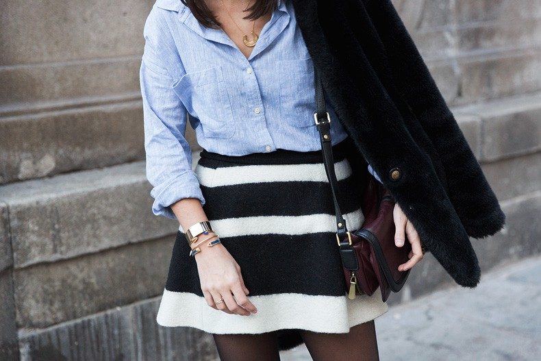 Striped_Skirt-Blue_Shirt-Faux_Fur_Coat-Outfit-Street_Style-Collage_Vintage-51