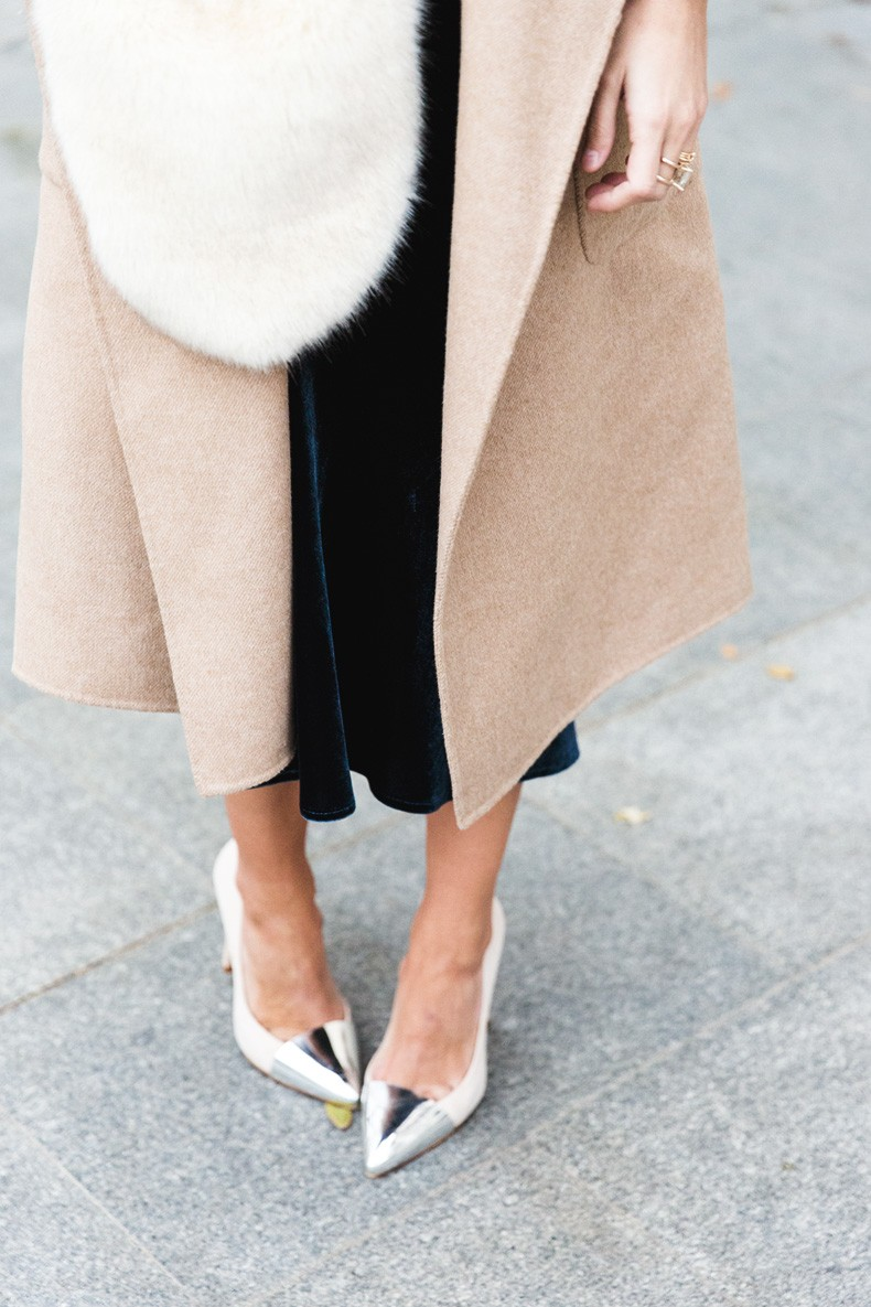 Velvet_Dress-Faux_Fur_Scarf-Party_Outfit-Street_Style-Collage_Vintage-3