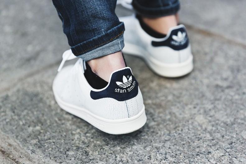 Adidas Stan Smith Negras Y Doradas