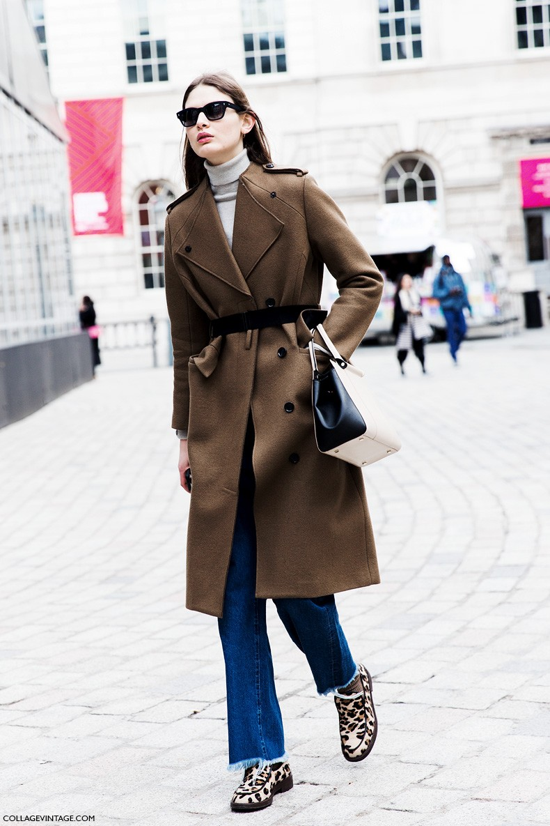 London_Fashion_Week_Fall_Winter_2015-Street_Style-LFW-Collage_Vintage-Camel_Coat-Belted_Coat-Leopard_Loafers-Victoria_Sekrier-3