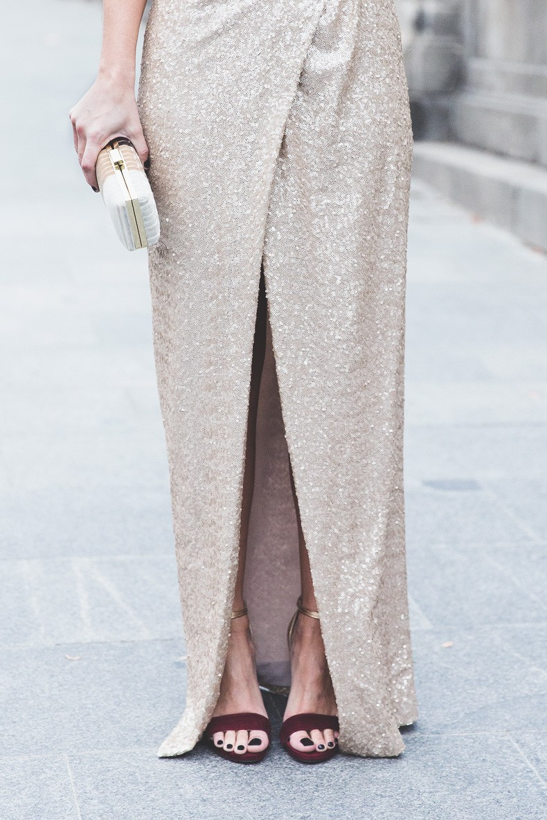 Los_Goya_2015-Alfombra_Lodi-Vestido_Lentejuelas-Outfit-Sequined_Maxi_Dress-Street_Style-12