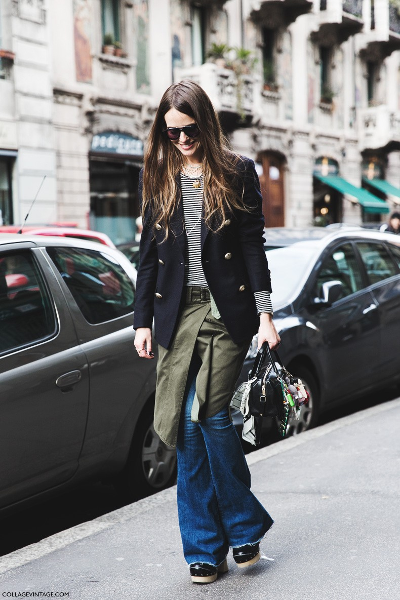 Milan_Fashion_Week-Fall_Winter_2015-Street_Style-MFW-Carlotta_Oddi-Flared_Jeams-