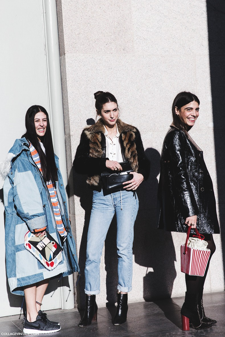 Milan_Fashion_Week-Fall_Winter_2015-Street_Style-MFW-Diletta_Bonaiutti-Gilda_Ambrosio-Georgia_Tal-1