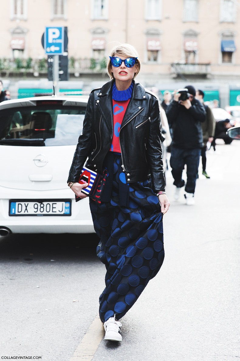 Milan_Fashion_Week-Fall_Winter_2015-Street_Style-MFW-Elisa_Nalin-Sneakers-MAxi_Skirt-Gucci-Yazbukey-