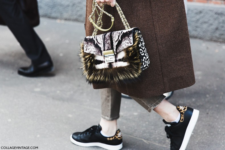 Milan_Fashion_Week-Fall_Winter_2015-Street_Style-MFW-Fendi_Bag-Adidas_Stan-
