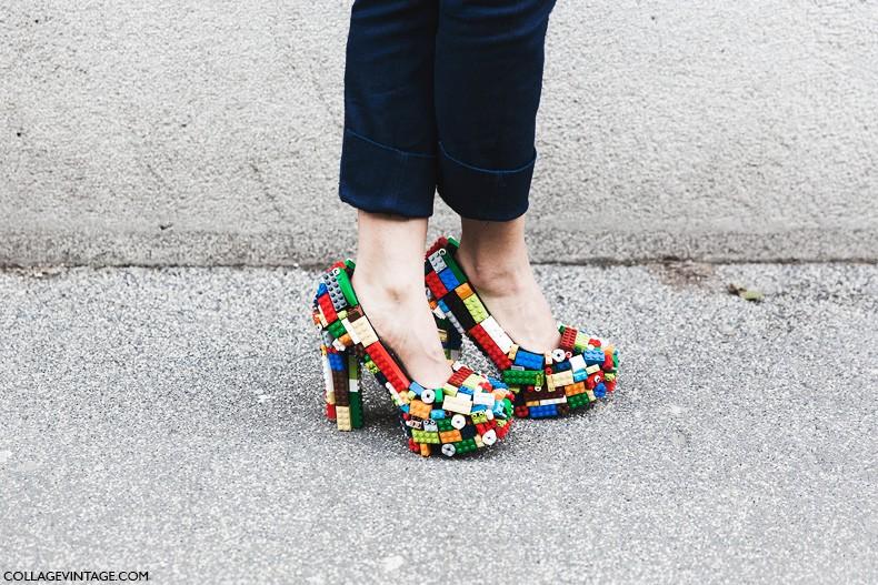 Milan_Fashion_Week-Fall_Winter_2015-Street_Style-MFW-Lego_Shoes-
