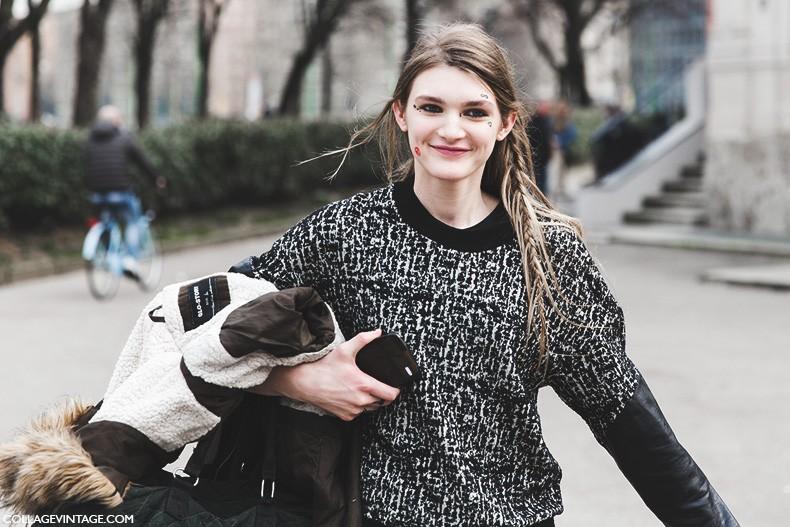Milan_Fashion_Week-Fall_Winter_2015-Street_Style-MFW-Model-Braids-