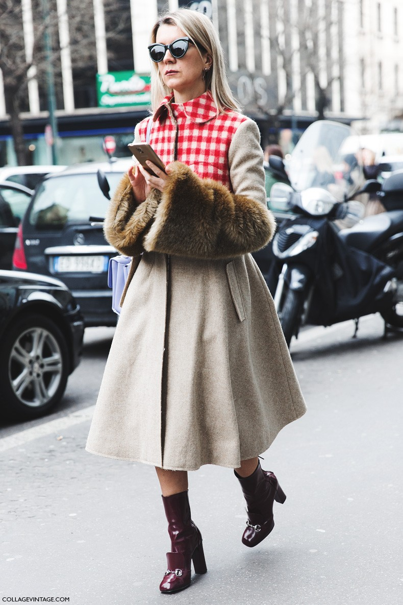 Milan_Fashion_Week-Fall_Winter_2015-Street_Style-MFW-Natalie_Joos-Fur_Gloves-Gucci_Boots-1
