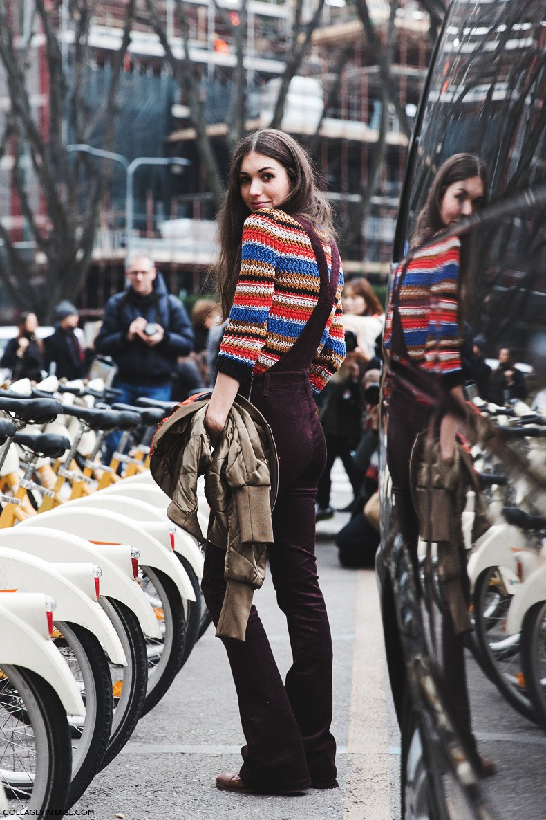 Milan_Fashion_Week-Fall_Winter_2015-Street_Style-MFW-Overall-Knitted_Jumper-Diletta_Bonaiuti-8