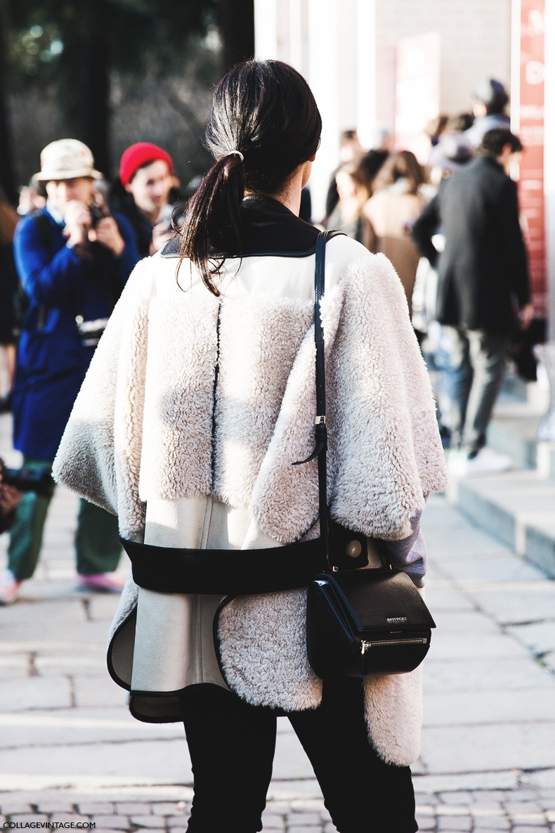 Milan_Fashion_Week-Fall_Winter_2015-Street_Style-MFW-Shearling_Jacket-