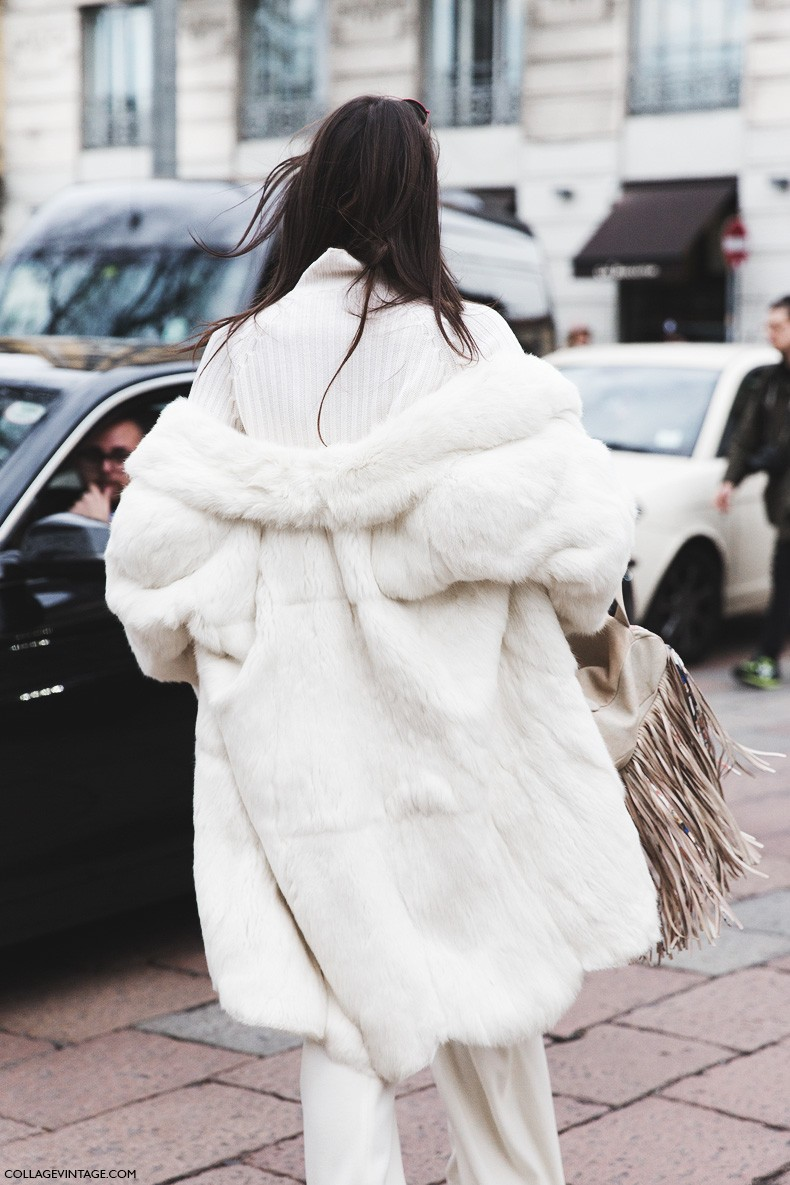 Milan_Fashion_Week-Fall_Winter_2015-Street_Style-MFW-White-outfit-Gucci-Fur_Coat-