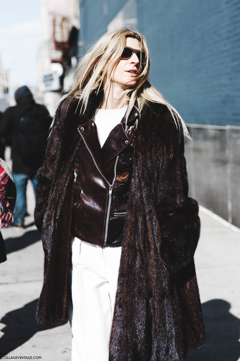New_York_Fashion_Week-Fall_Winter_2015-Street_Style-NYFW-Ada_Kokosar-Layers-Biker_Jacket-
