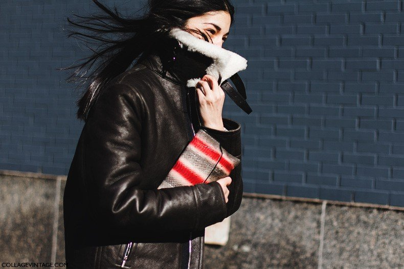 New_York_Fashion_Week-Fall_Winter_2015-Street_Style-NYFW-Aviator_Coat-Caroline_Issa-