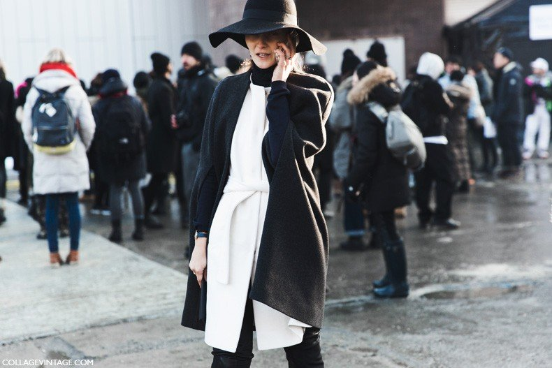 New_York_Fashion_Week-Fall_Winter_2015-Street_Style-NYFW-Black_And_White-1