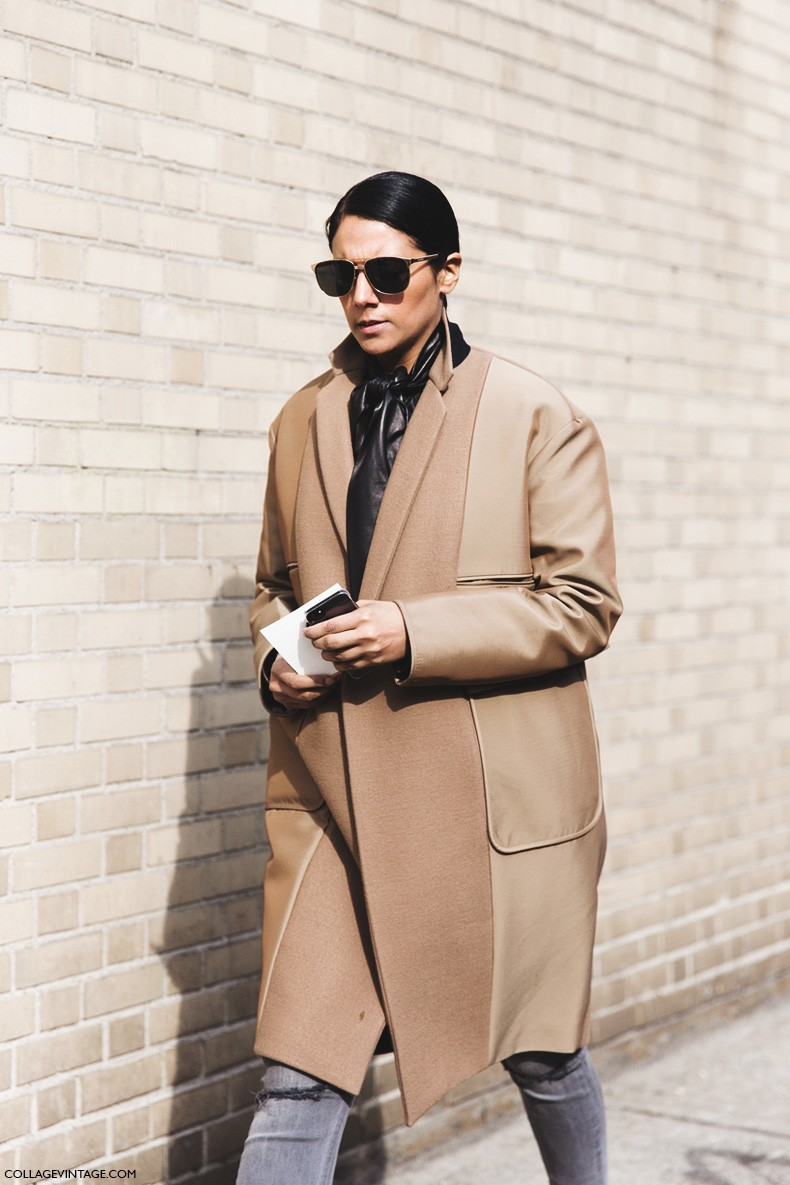 New_York_Fashion_Week-Fall_Winter_2015-Street_Style-NYFW-Camel_Coat-