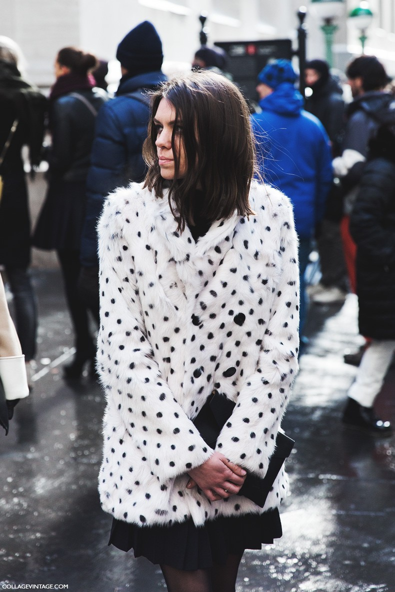 New_York_Fashion_Week-Fall_Winter_2015-Street_Style-NYFW-Dalmata_Coat-Interview_Magazine-