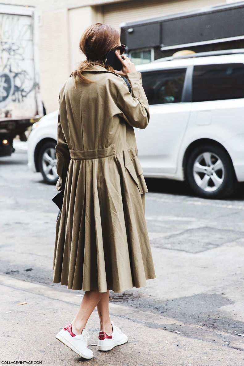 New_York_Fashion_Week-Fall_Winter_2015-Street_Style-NYFW-Gala_Gonzalez-Trench_Coat-Ralph_Lauren-Isabel_Marant_Sneakers-2