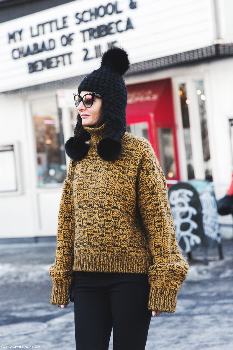 New_York_Fashion_Week-Fall_Winter_2015-Street_Style-NYFW-Giovanna_Battaglia-Beanie-