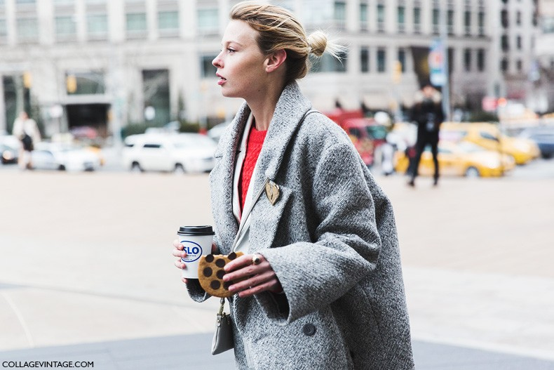 New_York_Fashion_Week-Fall_Winter_2015-Street_Style-NYFW-Grey_Coat-White_Outfit-5