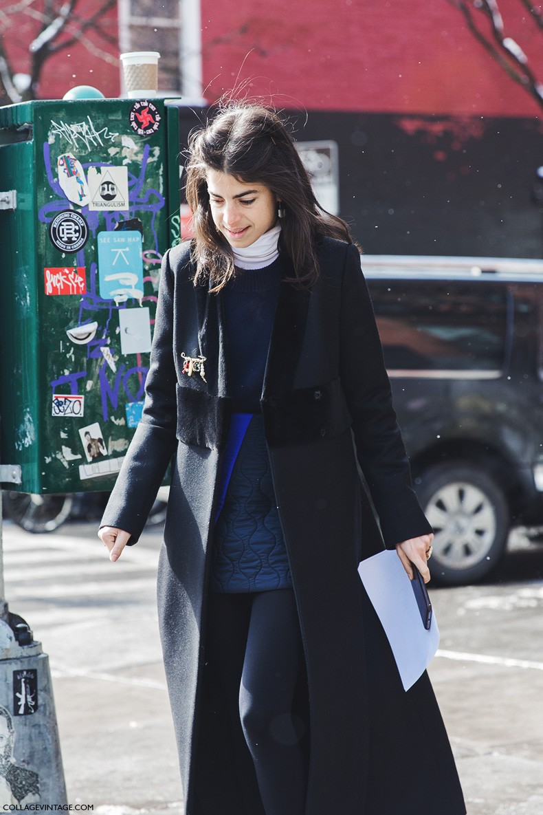New_York_Fashion_Week-Fall_Winter_2015-Street_Style-NYFW-Leandra_Medine-Miu_Miu_Skirt-Long_Coat-Turtle_Neckl-