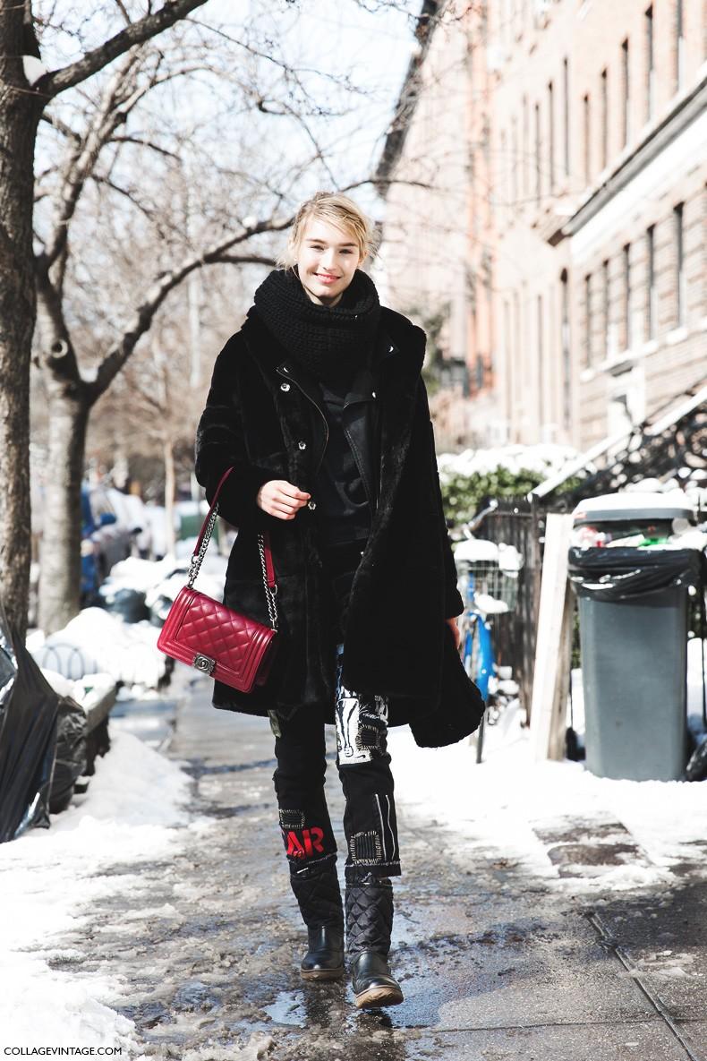 New_York_Fashion_Week-Fall_Winter_2015-Street_Style-NYFW-MOdel_chanel_Boy-fur_coat-2