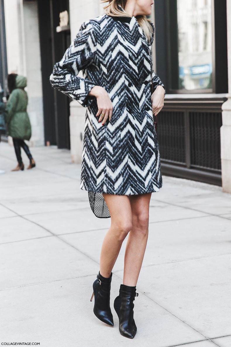 New_York_Fashion_Week-Fall_Winter_2015-Street_Style-NYFW-Model_Black_And_White_Coat-