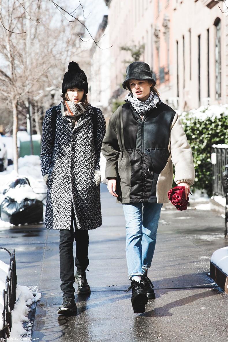 New_York_Fashion_Week-Fall_Winter_2015-Street_Style-NYFW-Models_Hanne_Gabi-