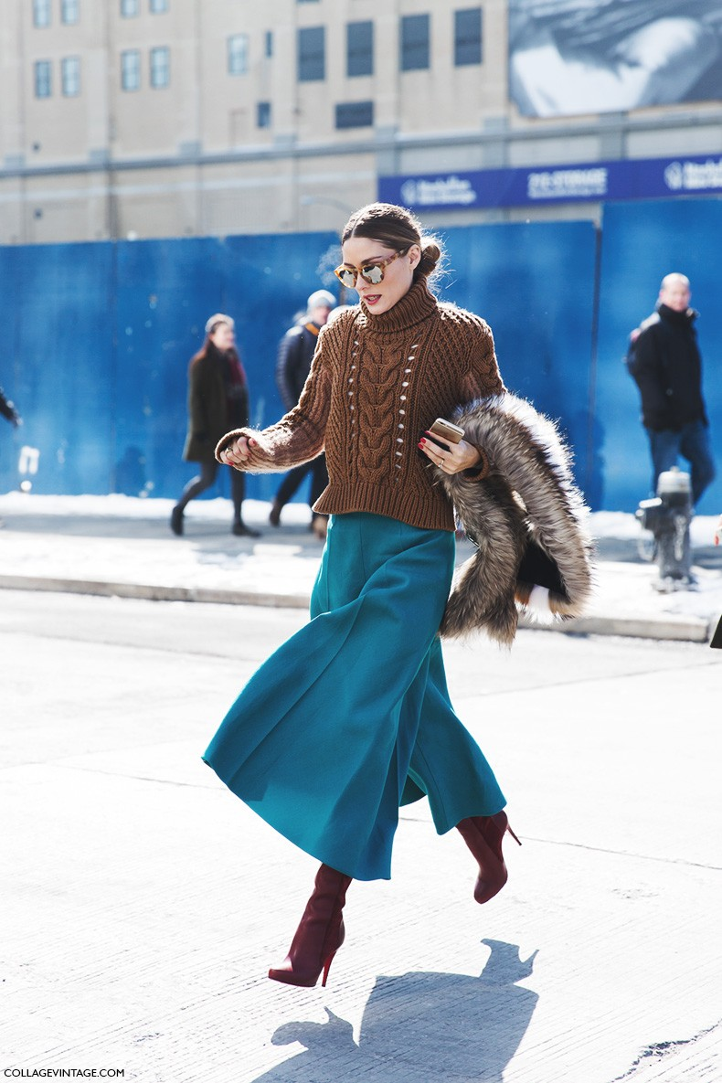 Say cheese olivia palermo collage vintage Street style ny fashion week fall 2015