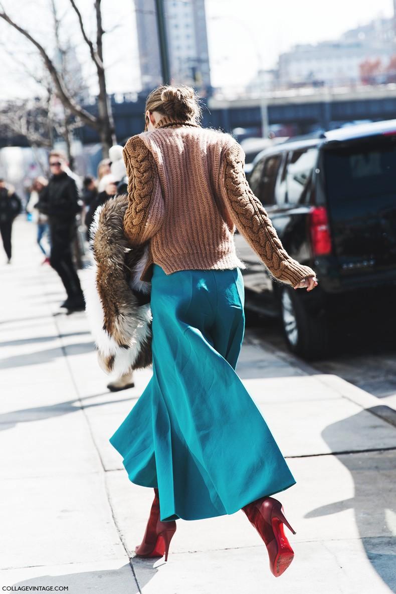 New_York_Fashion_Week-Fall_Winter_2015-Street_Style-NYFW-Olivia_palermo_Culotte-Kitwear-Fur_Scarf-2