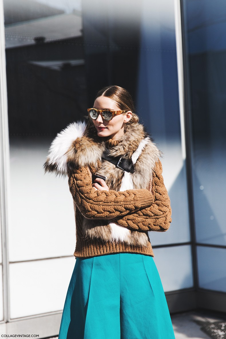 New_York_Fashion_Week-Fall_Winter_2015-Street_Style-NYFW-Olivia_palermo_Culotte-Kitwear-Fur_Scarf-3