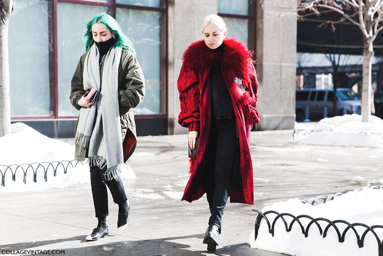 New_York_Fashion_Week-Fall_Winter_2015-Street_Style-NYFW-Red_Coat-Bomber