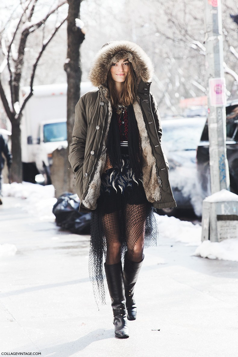 New_York_Fashion_Week-Fall_Winter_2015-Street_Style-NYFW-Sofia_Sanchez-Parka-1
