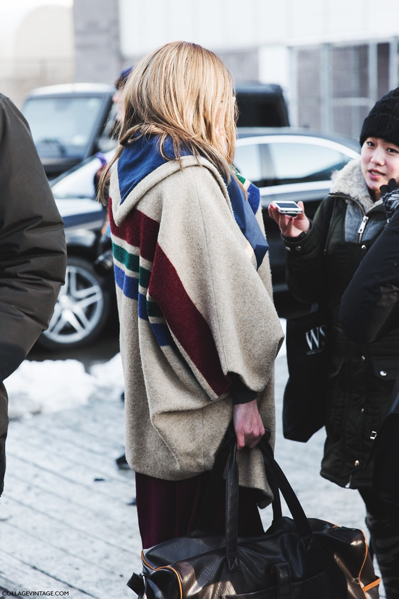 New_York_Fashion_Week-Fall_Winter_2015-Street_Style-NYFW-Sreiped_Coat-