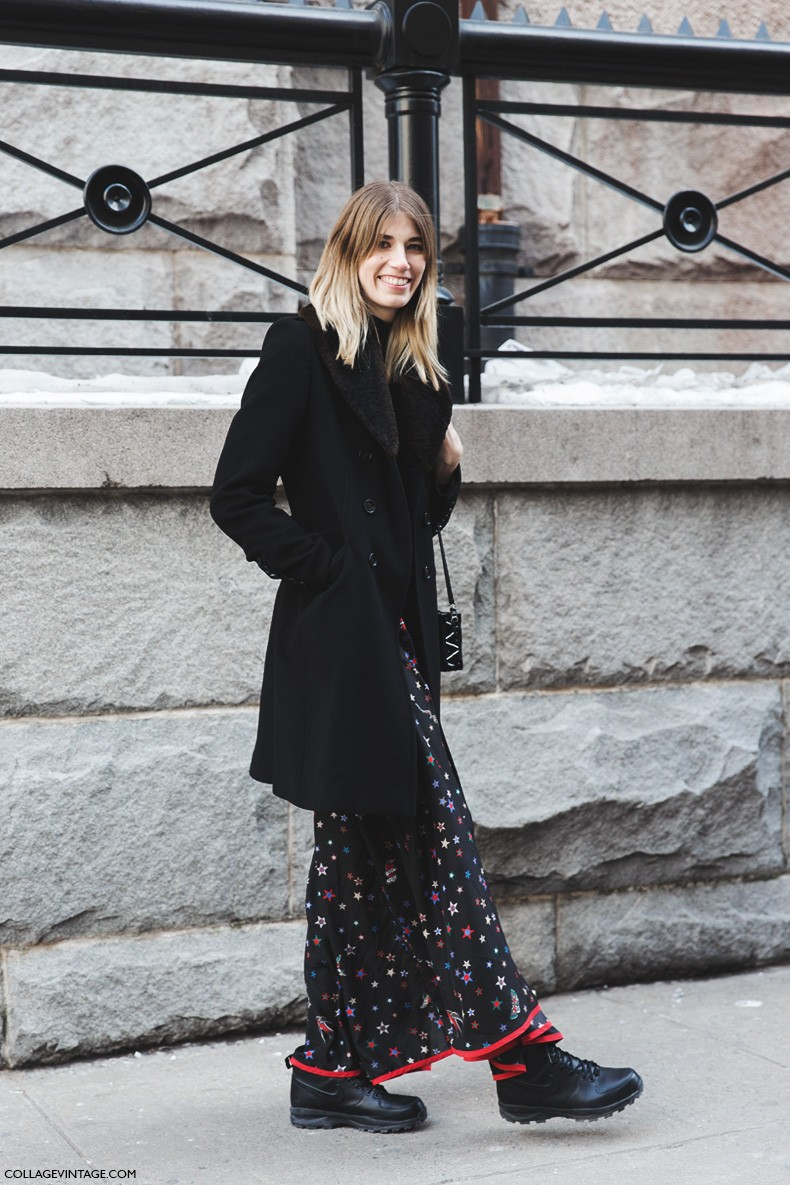 New_York_Fashion_Week-Fall_Winter_2015-Street_Style-NYFW-Veronika_Heilbrunner-Stars_Long_Skirt_Tommy_Hilfiger-